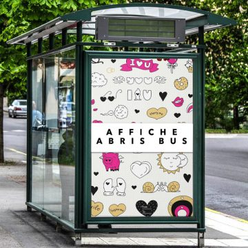 Affiches Abris bus & XXL