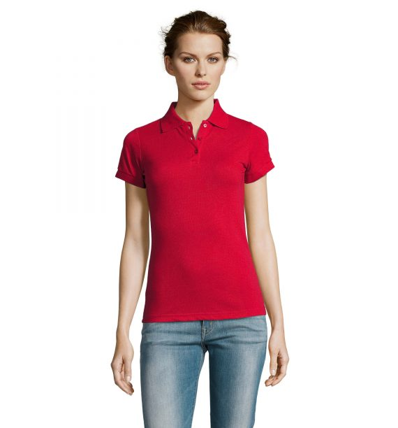 Polo HDG rouge