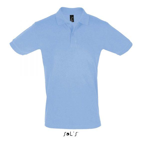 Polo essentiel bleu clair H