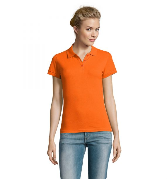 Polo essentiel orange F