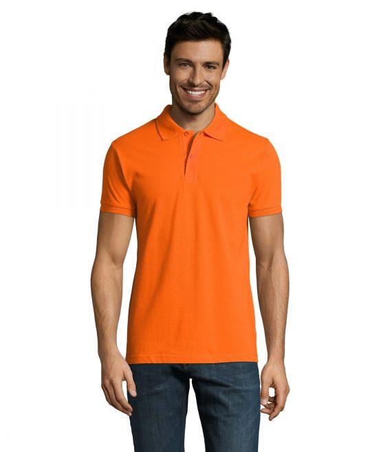 Polo essentiel orange H