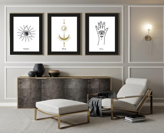 collection de posters esoterik